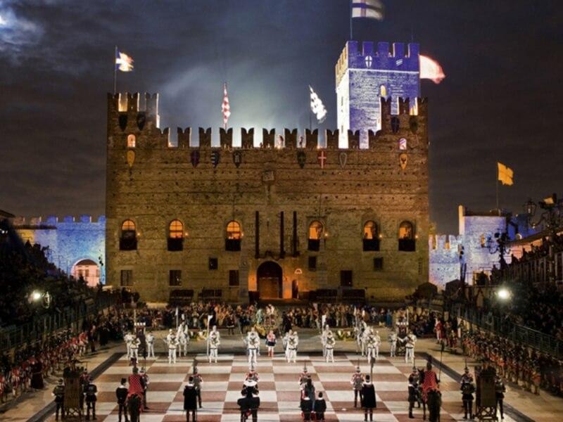 Marostica, die Stadt des Schachs